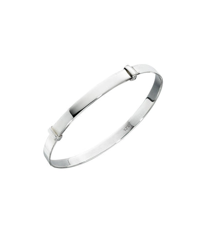 Childs Adjustable Sterling Silver Bangle from the Bangles collection at Argenteus Jewellery