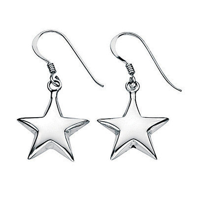 Star Drop Earrings from the Earrings collection at Argenteus Jewellery