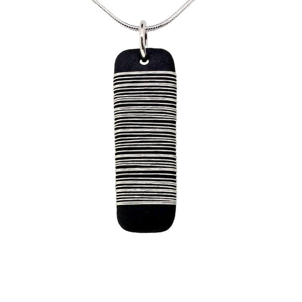 Tracey Birchwood - 25mm Drop Bound Necklet from the Necklaces collection at Argenteus Jewellery