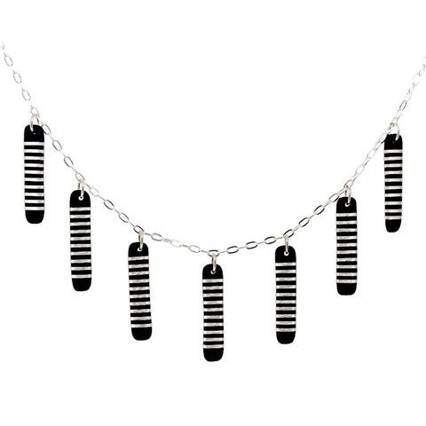 Tracey Birchwood - Long Drops Necklet from the Necklaces collection at Argenteus Jewellery