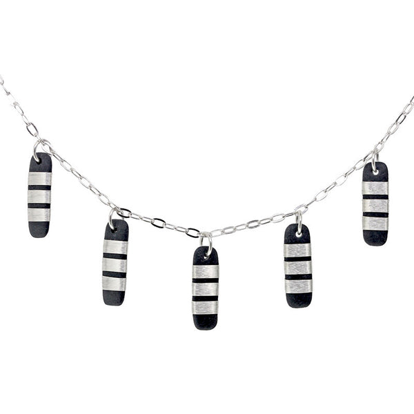 Tracey Birchwod - Medium Drops Necklet from the Necklaces collection at Argenteus Jewellery