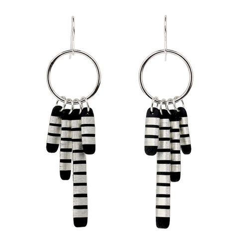 Tracey Birchwood - Tassle Drop Earrings from the Earrings collection at Argenteus Jewellery