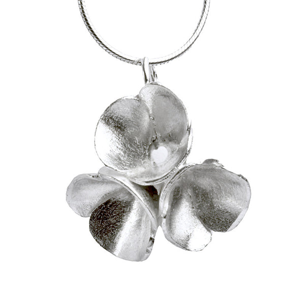 Blossom drop necklace from the Necklaces collection at Argenteus Jewellery