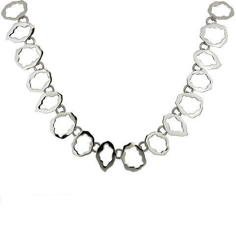 Organic Oval Links Necklace from the Necklaces collection at Argenteus Jewellery
