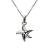 Small Starfish Drop Necklace from the Necklaces collection at Argenteus Jewellery