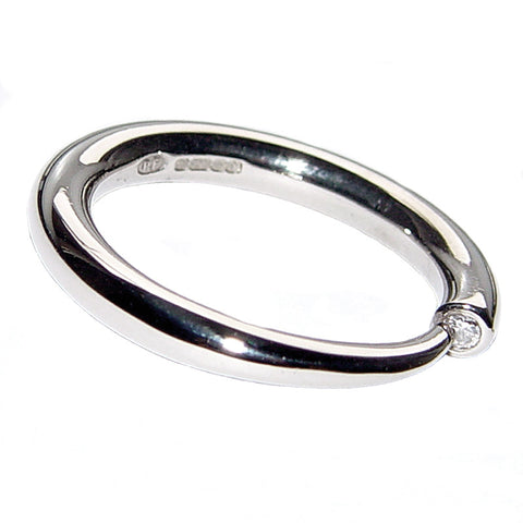 Paul Finch - Diamond Taper Ring from the Rings collection at Argenteus Jewellery
