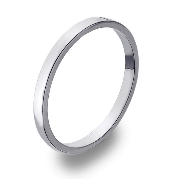2mm Flat Band Ring from the Rings collection at Argenteus Jewellery