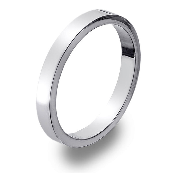 3mm Flat Band Ring from the Rings collection at Argenteus Jewellery