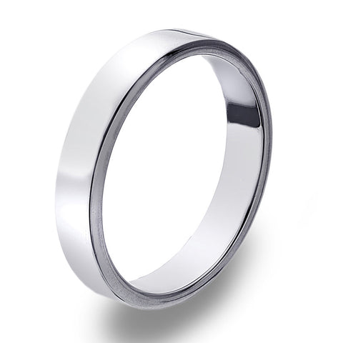 4mm Flat Band Ring from the Rings collection at Argenteus Jewellery