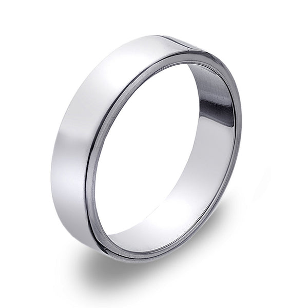 5mm Flat Band Ring from the Rings collection at Argenteus Jewellery