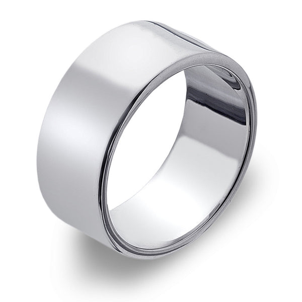9mm Flat Band Ring from the Rings collection at Argenteus Jewellery