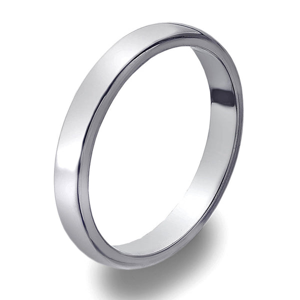 3mm D-Profile Band Ring from the Rings collection at Argenteus Jewellery