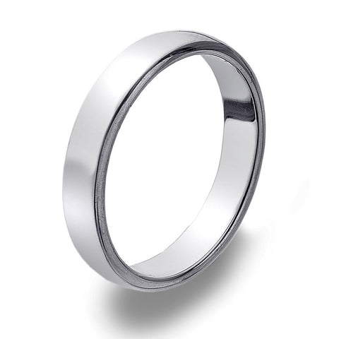 4mm D-Profile Band Ring from the Rings collection at Argenteus Jewellery