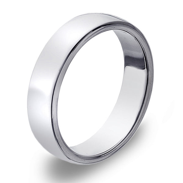 5mm D-Profile Band Ring from the Rings collection at Argenteus Jewellery