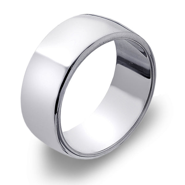 8mm D-Profile Band Ring from the Rings collection at Argenteus Jewellery