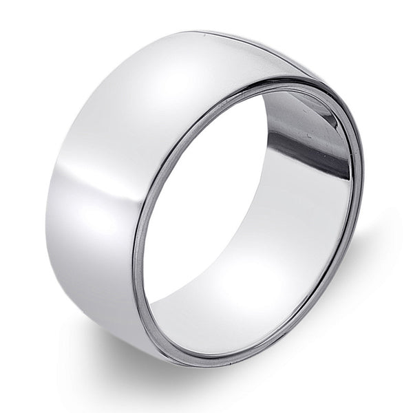 9mm D-Profile Band Ring from the Rings collection at Argenteus Jewellery