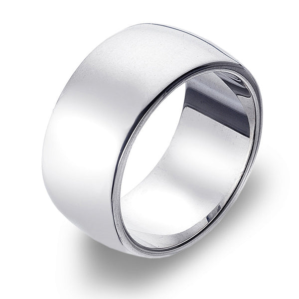 10mm D-Profile Band Ring from the Rings collection at Argenteus Jewellery