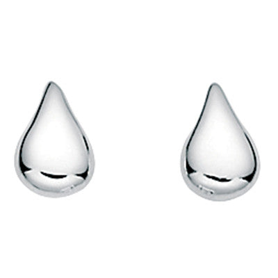 Tiny Teardrop Stud Earrings