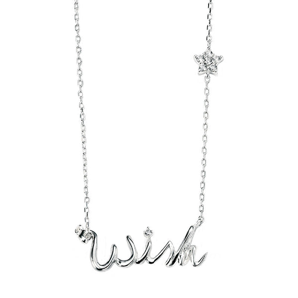 Wish and Star Necklace from the Necklaces collection at Argenteus Jewellery