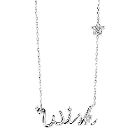 Wish and Star Necklace