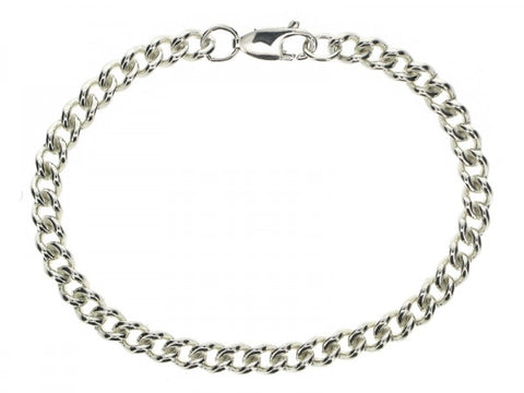Curb 5.03mm Open Link Necklace or Bracelet