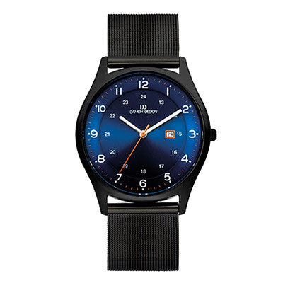 Danish Design Men's Watch IQ66Q956 Black And Blue from the Watches collection at Argenteus Jewellery