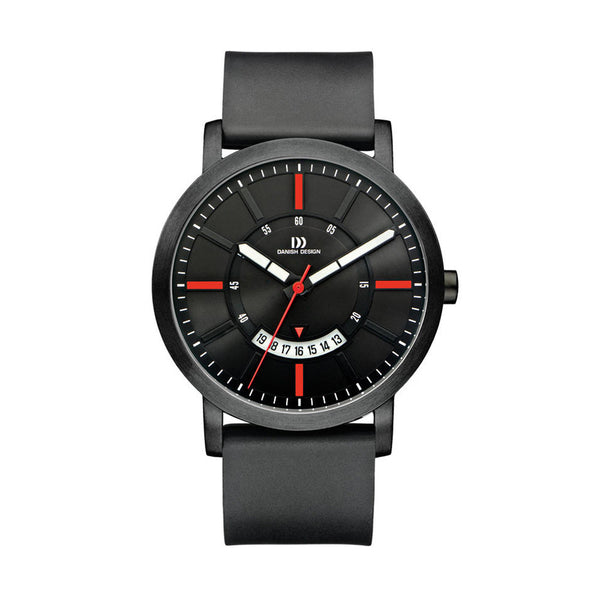 Danish Design Men's Watch IQ24Q1046 Black And Red from the Watches collection at Argenteus Jewellery
