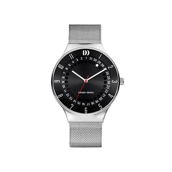 Danish Design Men's Watch IQ63Q1050 Black And Steel from the Watches collection at Argenteus Jewellery