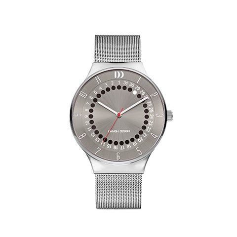 Danish Design Men's Watch IQ64Q1050 Grey And Steel from the Watches collection at Argenteus Jewellery