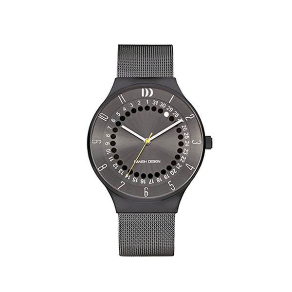 Danish Design Men's Watch IQ66Q1050 Grey And Black from the Watches collection at Argenteus Jewellery