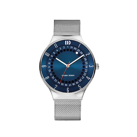 Danish Design Men's Watch IQ68Q1050 Blue And Steel from the Watches collection at Argenteus Jewellery