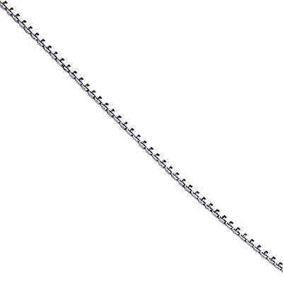 Sterling Silver Box Chain from the Necklaces collection at Argenteus Jewellery