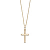 Gold Cross Necklace from the Necklaces collection at Argenteus Jewellery