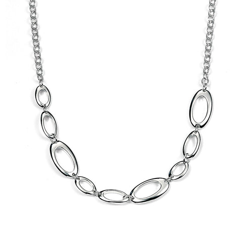 Random Ovals Necklace from the Necklaces collection at Argenteus Jewellery