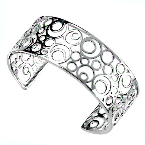 Circles in Circles Bangle from the Bangles collection at Argenteus Jewellery