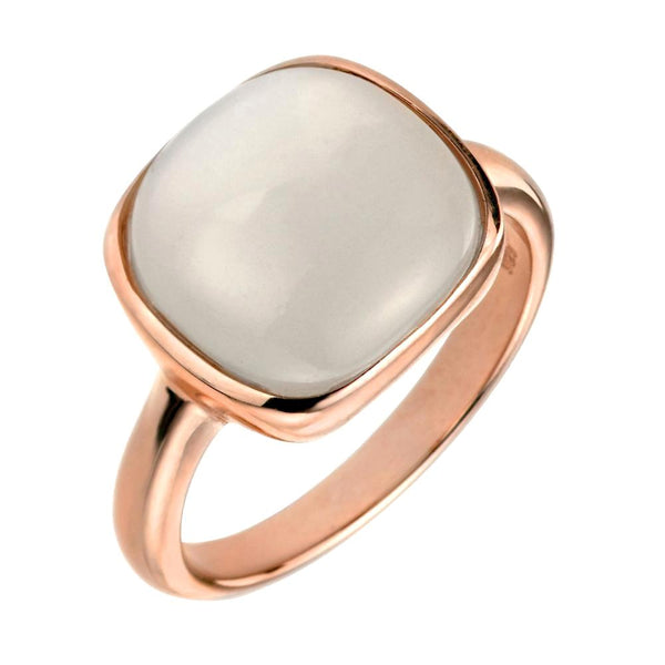 Square Moonstone Ring from the Rings collection at Argenteus Jewellery