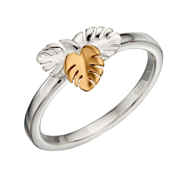 Cheeseplant Leaves Ring from the Rings collection at Argenteus Jewellery