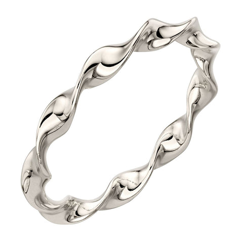 Twist Ring -Silver from the Rings collection at Argenteus Jewellery
