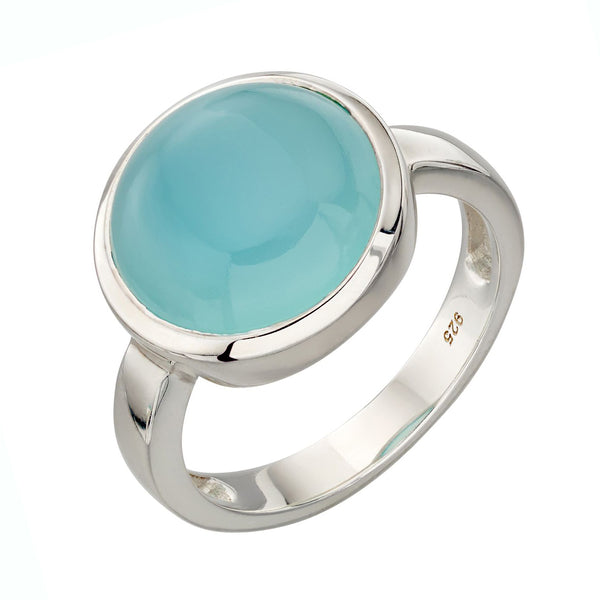 Aqua Agate Ring from the Rings collection at Argenteus Jewellery