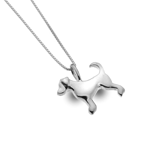 Dog Pendant Necklace from the Necklaces collection at Argenteus Jewellery