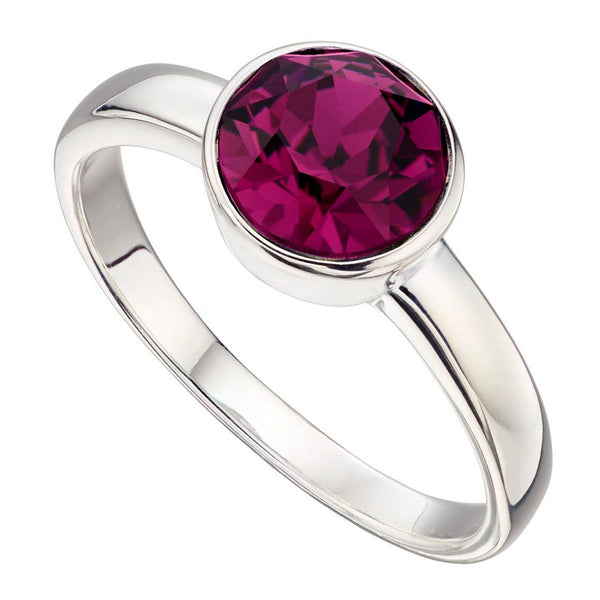 Birthstone Ring-February Amethyst from the Rings collection at Argenteus Jewellery