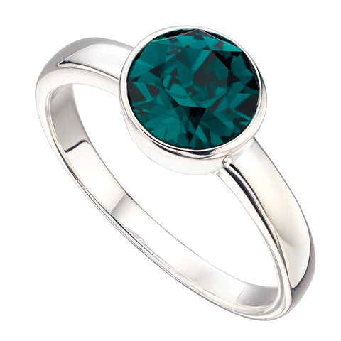 Birthstone Ring-May Emerald from the Rings collection at Argenteus Jewellery