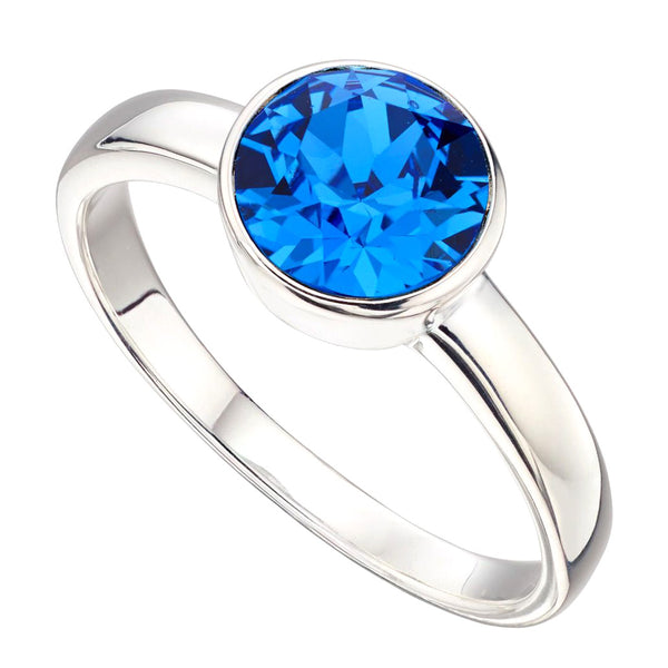 Birthstone Ring-September Sapphire from the Rings collection at Argenteus Jewellery