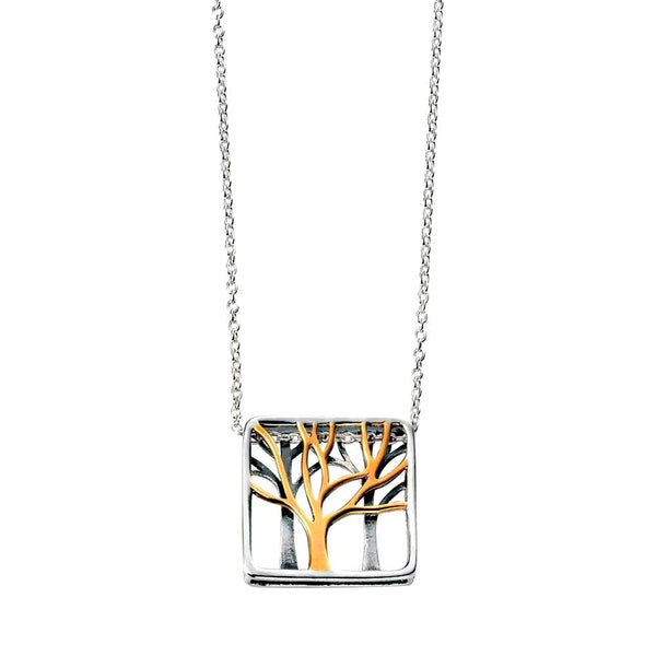 Trees Pendant Necklace from the Necklaces collection at Argenteus Jewellery
