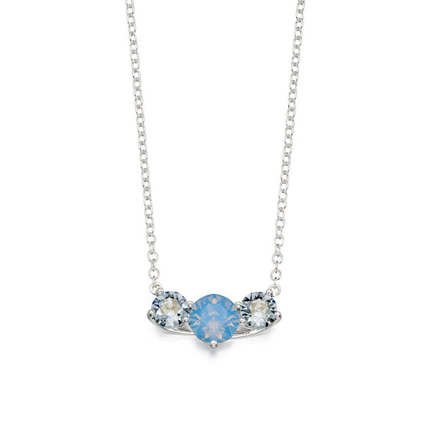 Blue Shimmer Necklace from the Necklaces collection at Argenteus Jewellery