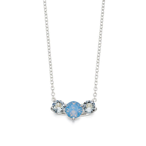 Blue Shimmer Necklace