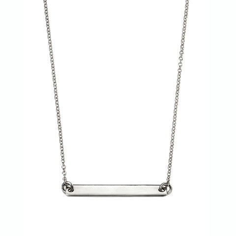 ID Necklace - Silver or Gold Plate from the Necklaces collection at Argenteus Jewellery