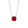 Imperial Ruby Scarlet - Necklace from the Necklaces collection at Argenteus Jewellery