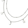 Stars and Moons Charms Necklace