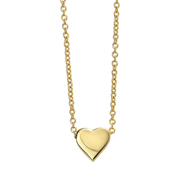 Sweetheart Necklace - Gold Plate